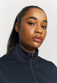 Cross Sportswear - WOMENS TECH FULL ZIP - Fleecejas - navy - 3