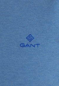 GANT - CONTRAST COLLAR RUGGER - Piké - denim blue - 7