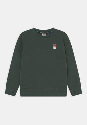 BASIC CREW  - Sweatshirt - steel green