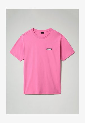 S-PATCH SS - Basic T-shirt - pink super