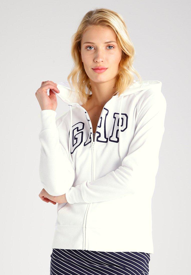 GAP - veste en sweat zippée - white
