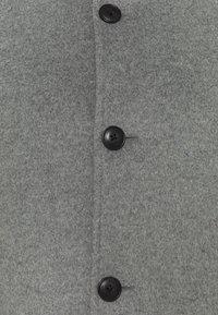 Tommy Hilfiger Tailored - SOLID STAND UP COLLAR COAT - Klassinen takki - grey - 2