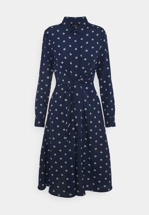 DRESS - Shirt dress - french navy/pale