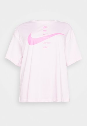 Print T-shirt - pink foam