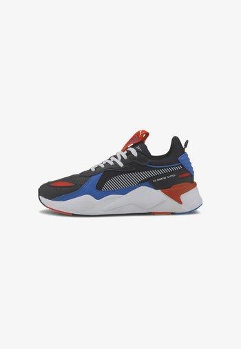 Sneakers laag - black-lapis blue