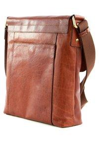 Saddler - VERDAL - Across body bag - midbrown - 3
