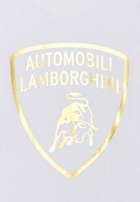 Automobili Lamborghini Kidswear - SHIELD - Print T-shirt - white - 2