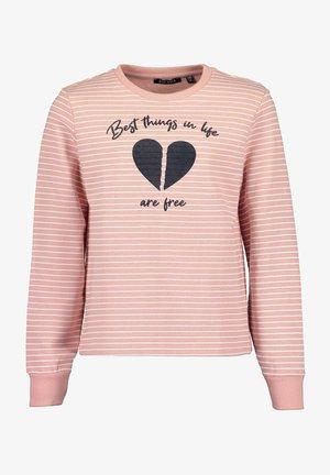 Sweatshirt - rosa