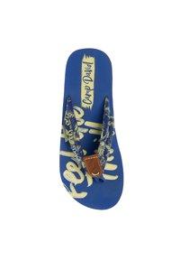 Camp David - MUSTERPRINT - T-bar sandals - action blue - 3