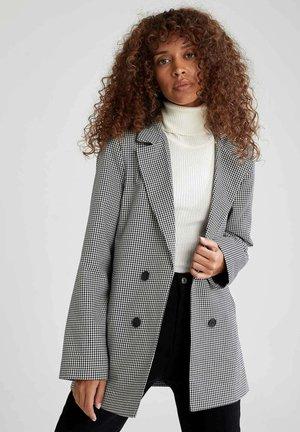 OVERSIZE FIT  - Short coat - black