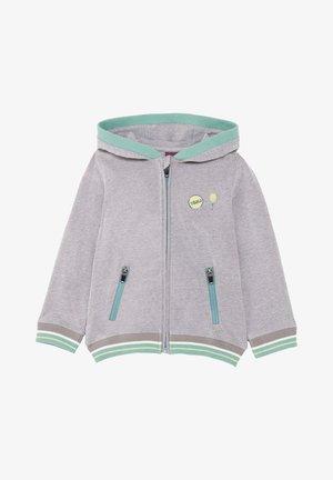 Zip-up sweatshirt - gray