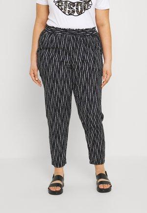 PRINTED ELASTICATED WAIST - Trousers - mono