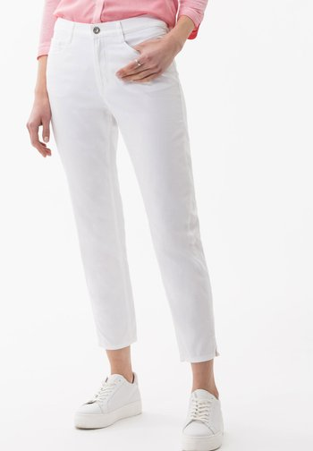STYLE MARY  - Straight leg jeans - white
