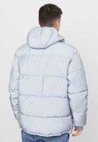 Bershka - Winter jacket - silver - 2