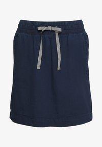 Q/S designed by - KURZ - A-line skirt - blue denim - 0