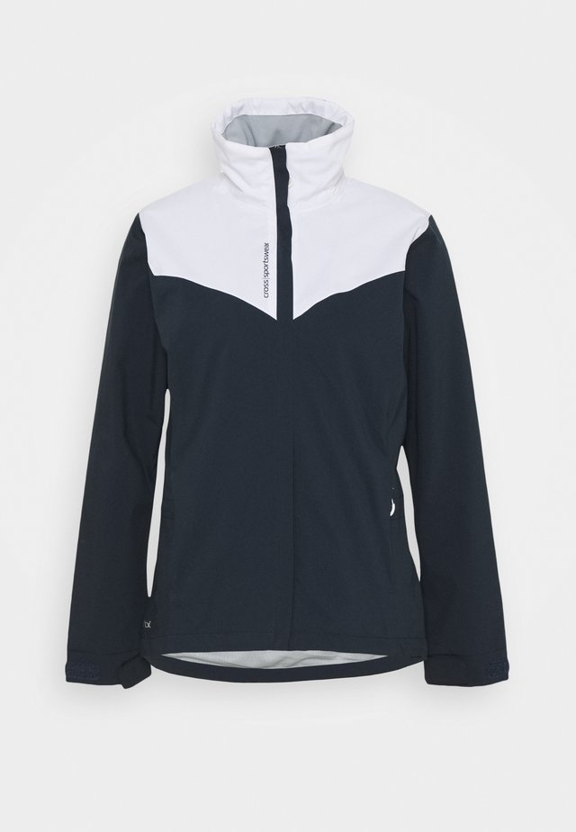 WOMENS CLOUD JACKET - Vodotěsná bunda - navy