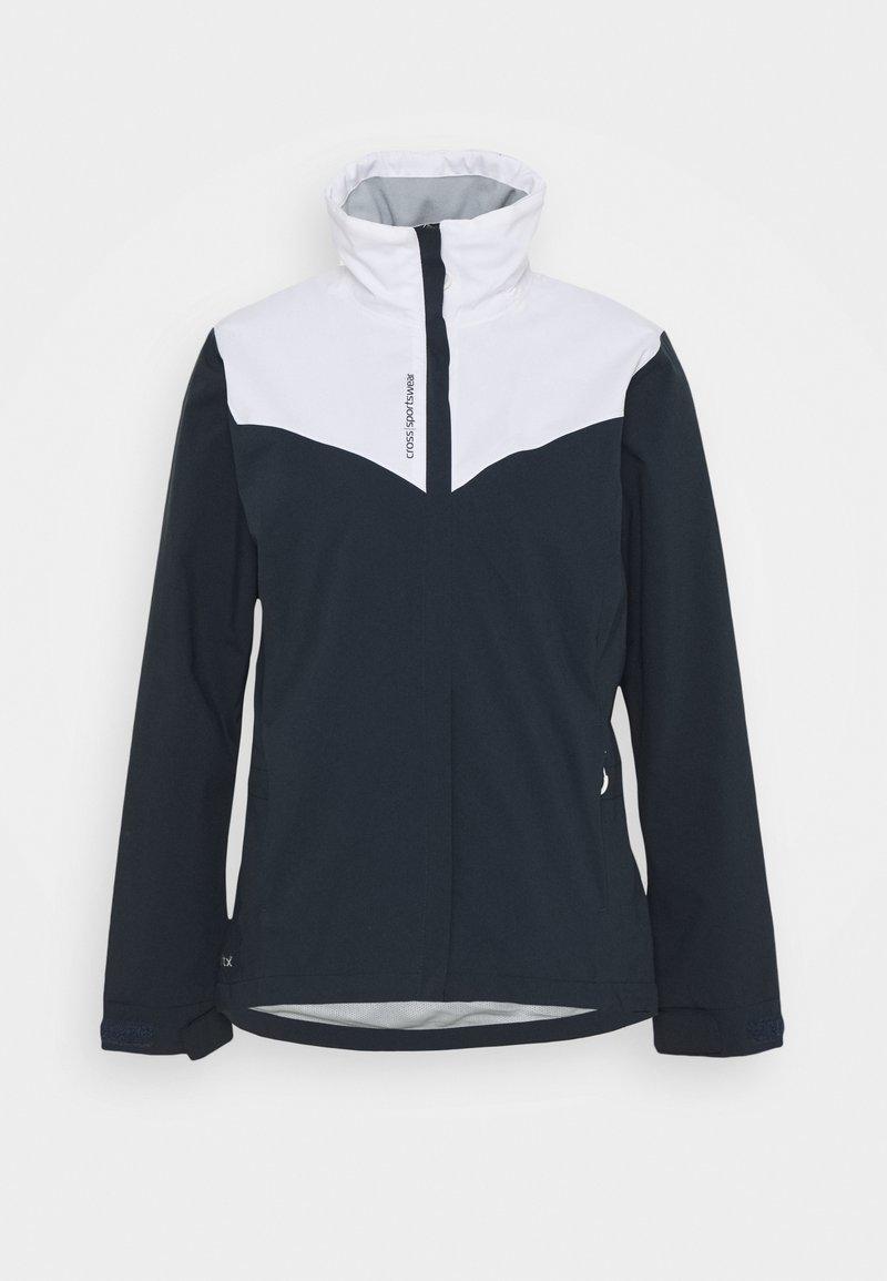 Cross Sportswear - WOMENS CLOUD JACKET - Waterproof jacket - navy