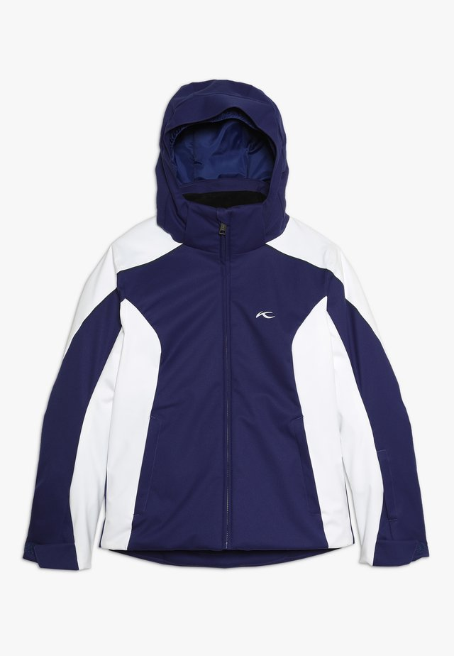 GIRLS FORMULA JACKET - Kurtka snowboardowa - into the blue/white