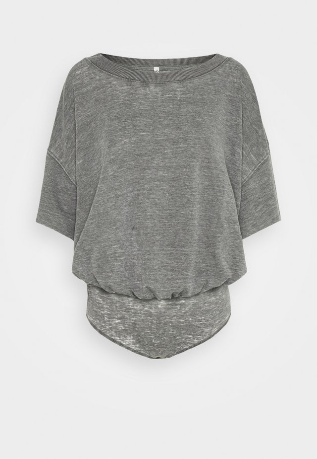 COZY GIRL - Pyjama - washed black