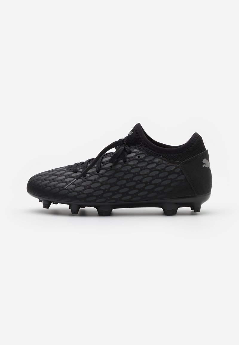 Puma - FUTURE 5.4 FG/AG - Moulded stud football boots - black/asphalt
