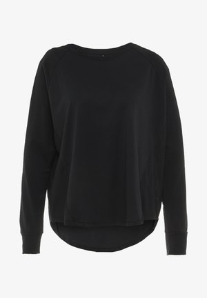ACTIVE LONGSLEEVE  - Long sleeved top - black