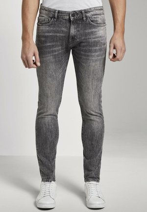 TROY  - Slim fit jeans - grey denim