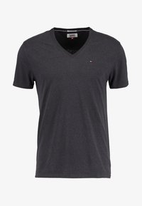 ORIGINAL TRIBLEND V-NECK TEE REGULAR FIT - Basic T-shirt - tommy black