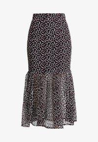 Mossman - THE SPELLBOUND SKIRT - Maxi skirt - black/white - 3