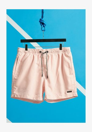 EDIT SWIM SHORT - Shorts da mare - orange stripe