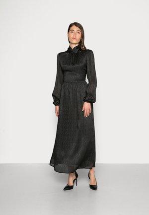 PIVA DRESS - Maxi dress - pitch black