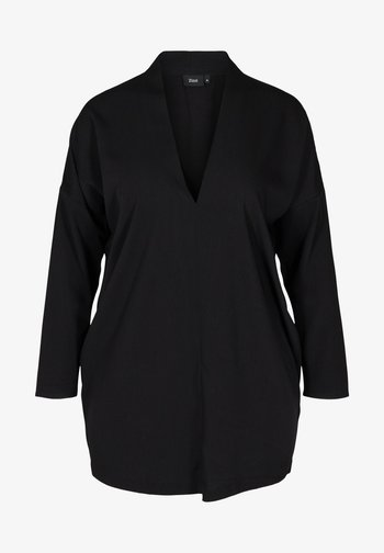 LONG-SLEEVED WITH A V-NECK