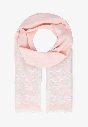 Scarf - rosa-creme