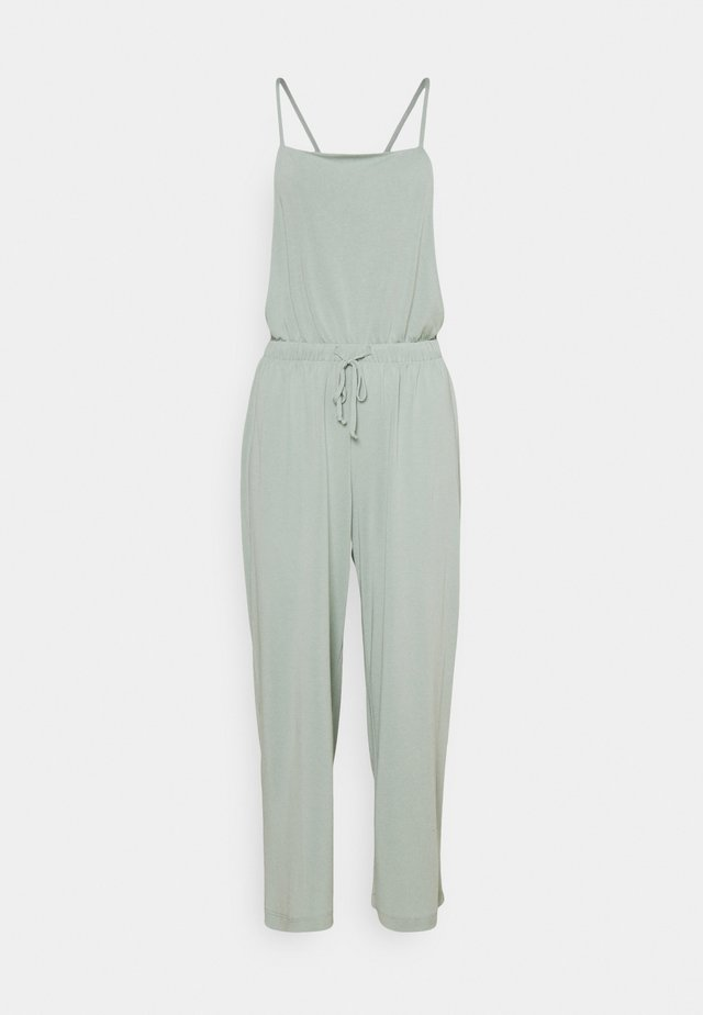 SOFT OVERALL - Jumpsuit - leaf green