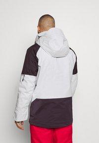 Columbia - WILD CARDJACKET - Snowboard jacket - nimbus grey/dark purple - 2