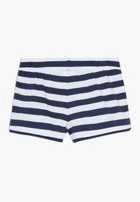 Benetton - Shorts - dark blue/white - 1