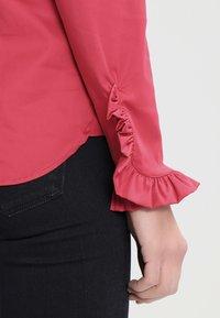 Mos Mosh - MATTIE - Button-down blouse - cherry - 4