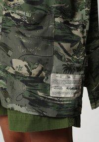 Napapijri - G-MAUI - Button-down blouse - camo green - 5