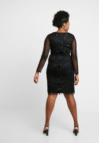 Lace & Beads Curvy - EXCLUSIVE MAJIC DRESS - Vestito elegante - black - 3