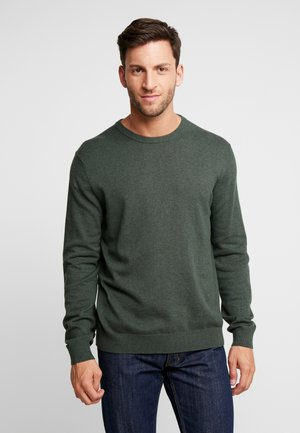 CREW - Strickpullover - dark green