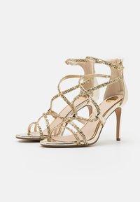 Buffalo - MERCY - High heeled sandals - light gold - 2