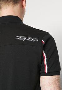 Tommy Hilfiger - SIGNATURE ZIP - Polo shirt - black - 4