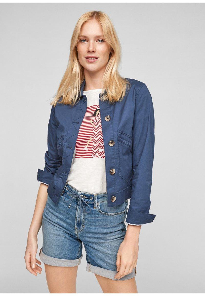 s.Oliver - Summer jacket - blue