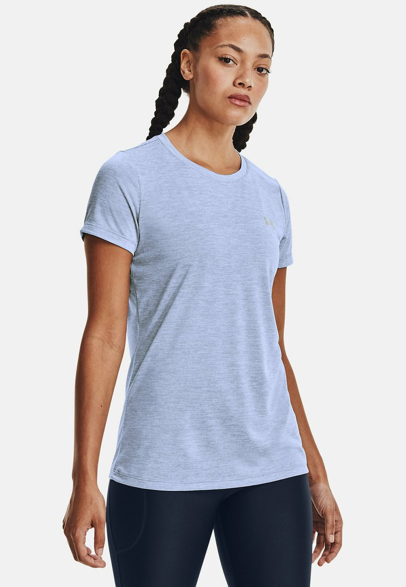 Under Armour - TECH TWIST - Basic T-shirt - washed blue