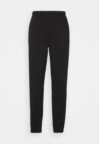 BASIC  - Teplákové kalhoty - black