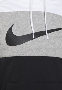 Nike Performance - DRY  - Mikina s kapucí - white/dark grey heather/black - 2