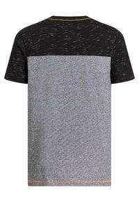 WE Fashion - Print T-shirt - black - 4