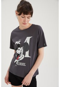 DeFacto - DISNEY MICKEY - T-shirt con stampa - anthracite - 3