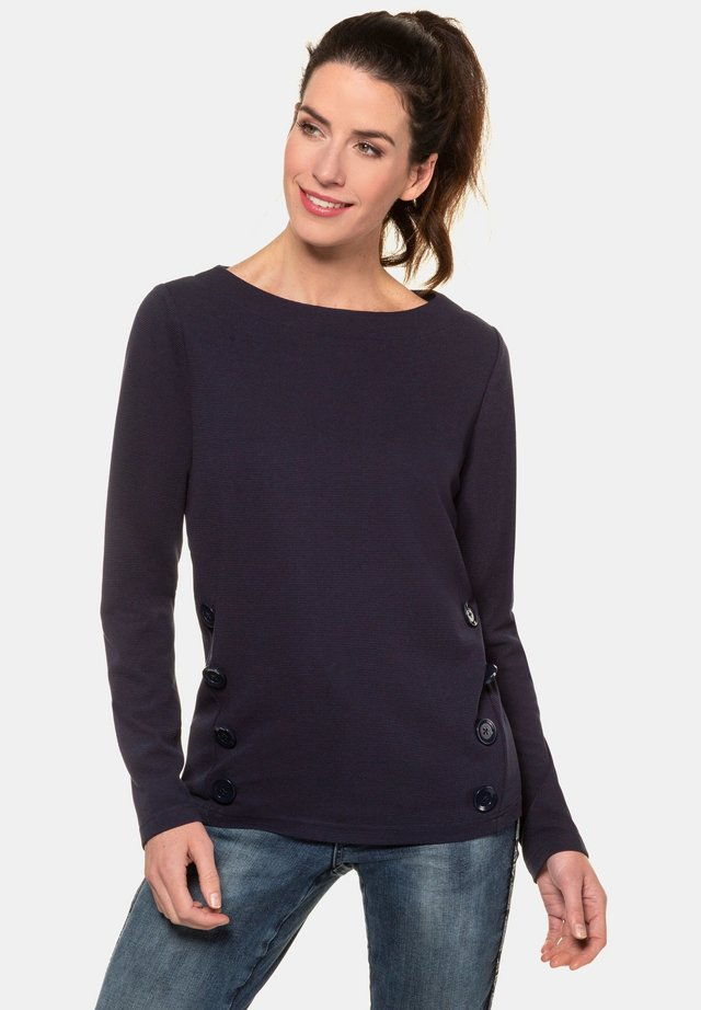 Pullover - nachtblau