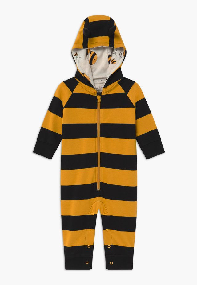 BEE HOODED STRIPE BABY - Jumpsuit - multi-coloured