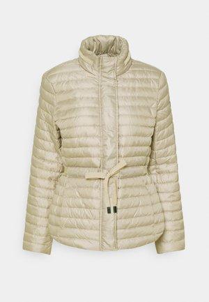 ECO PUFFR - Down jacket - dune